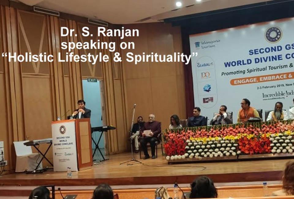 World Divine Conclave' at Pusa, Delhi